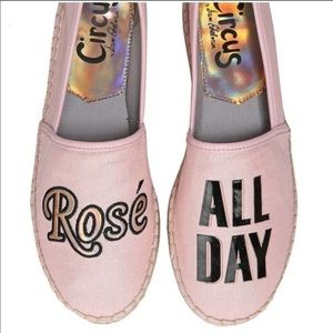 Circus by Sam Edelman Rose All Day Pink Flats 8.5